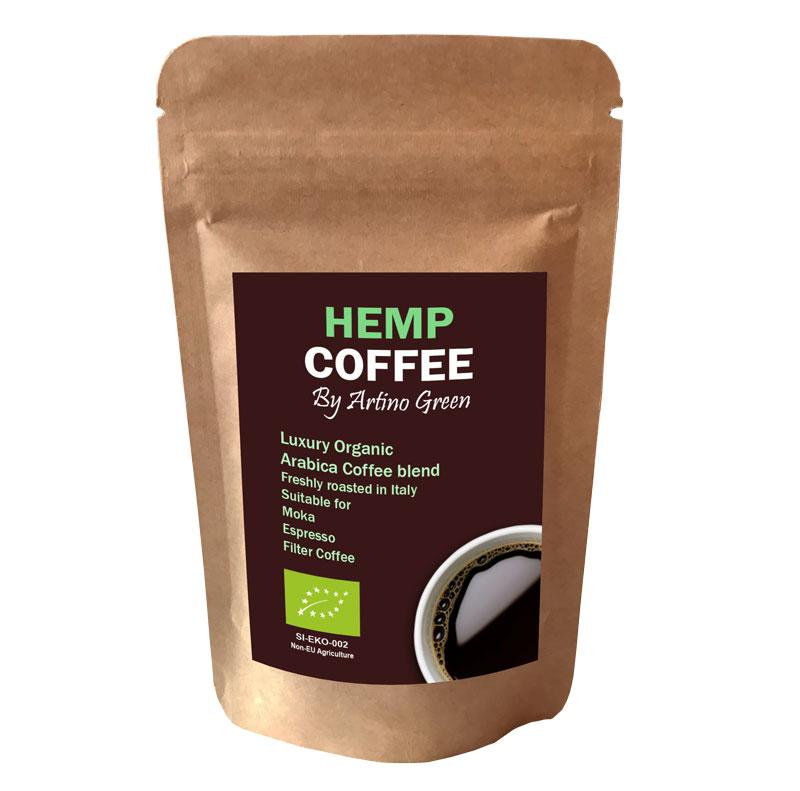 ORGANIC HEMP COFFEE - [English] Artino Green